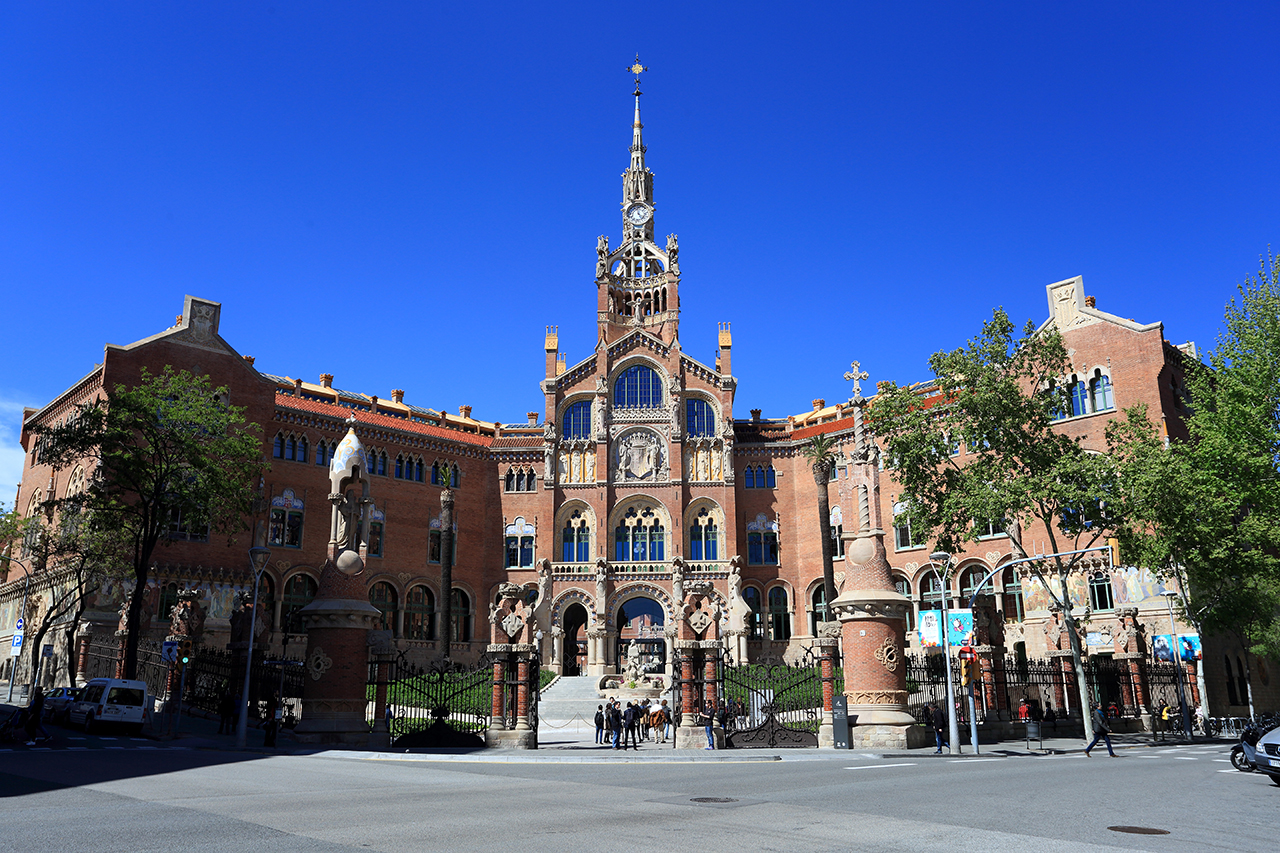 Hospital de sant pau pabell central puigdellivol for Fusteria barcelona